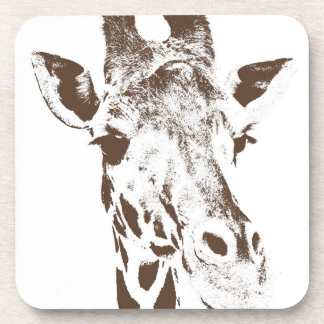 Giraffe Beverage Coaster