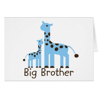Giraffe Big Brother Card