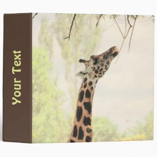 Giraffe Binder