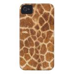 Giraffe Body Fur Skin Case Cover iPhone 4 Case-Mate Case