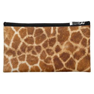 Giraffe Body Fur Skin Case Cover Cosmetics Bags