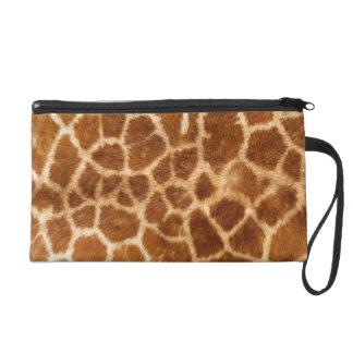 Giraffe Body Fur Skin Case Cover Wristlet Clutch