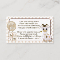Giraffe Book Requests Instead of a Card 100pk