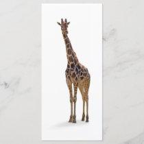Giraffe Bookmark / Rackcard