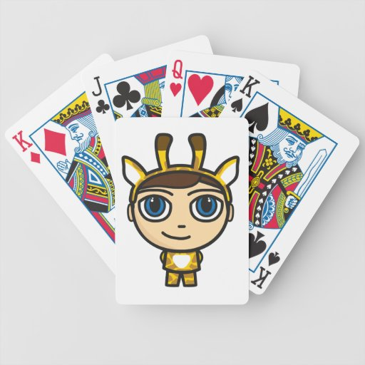 E Card Cartoon Characters : Giraffe boy cartoon character playing cards zazzle