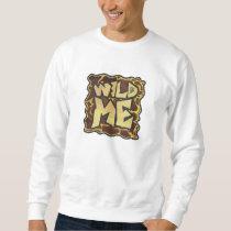 Giraffe Brown and Yellow Print Sweatshirt