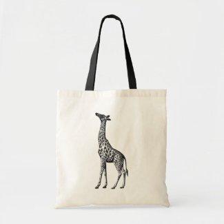 Giraffe Budget Tote Bag