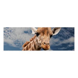 Giraffe Business Card