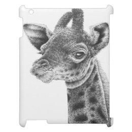 Giraffe Calf iPad Case