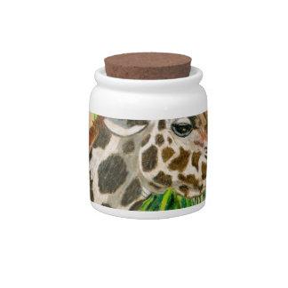 Giraffe Candy Jar