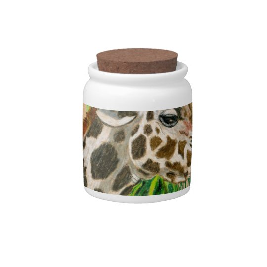 Giraffe Candy Jar