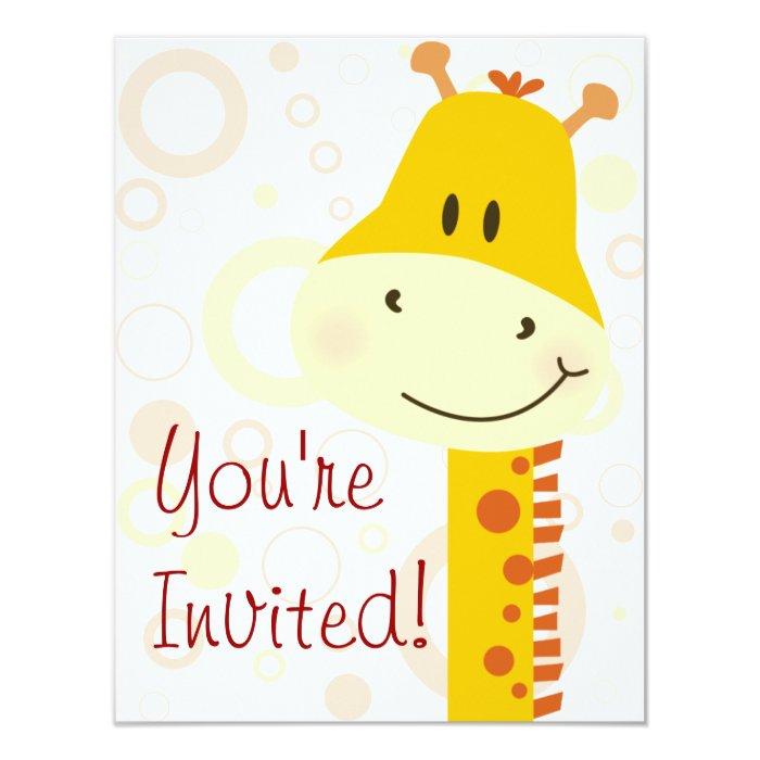 Giraffe Card