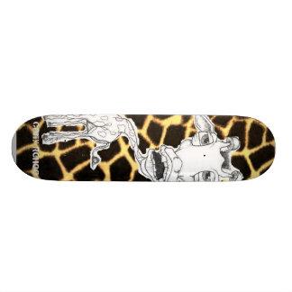 GIRaffe, Carly Renee Skateboard Deck