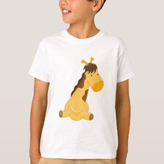 Giraffe Cartoon Character T-Shirt
