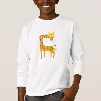 giraffe cartoon. T-Shirt