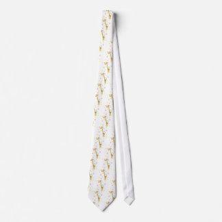 giraffe cartoon tie