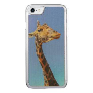 Giraffe Carved iPhone 7 Case