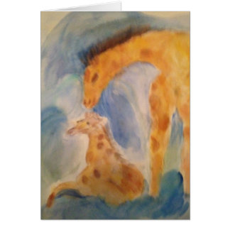 Giraffe Catharsis Card