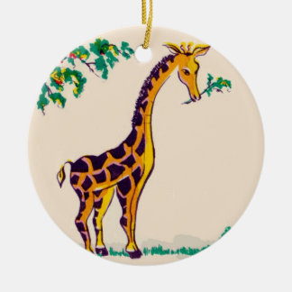 Giraffe Ceramic Ornament