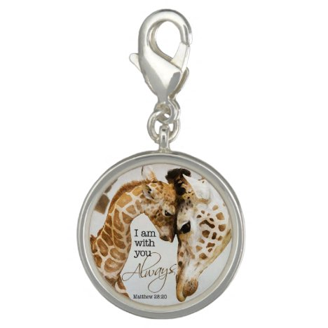 Giraffe charm pendant