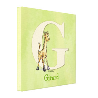 Giraffe - childs room print