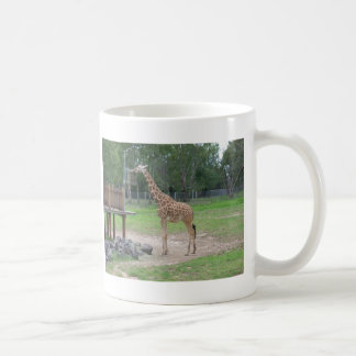 Giraffe Classic White Coffee Mug