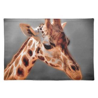 Giraffe Cloth Placemat