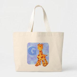 Giraffe Comic Tote Bag