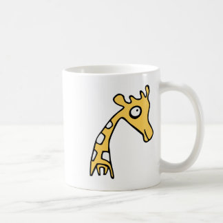 Giraffe cool illustration coffee mug