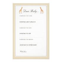 Giraffe | Dear Baby Cards