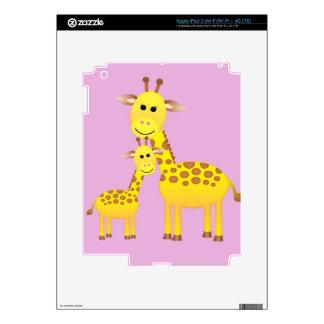 Giraffe Decal For iPad 3