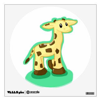 Giraffe Decor Wall Decal
