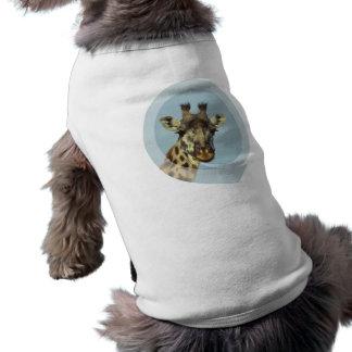 Giraffe Design  Pet Shirt