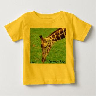 Giraffe, Detroit Zoo Baby T-Shirt