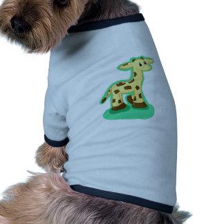 Giraffe Doggie Tee Shirt