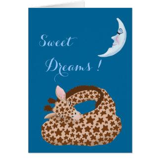 Giraffe Dreams Greeting Cards