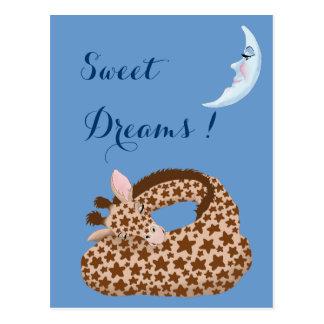 Giraffe Dreams Post Card