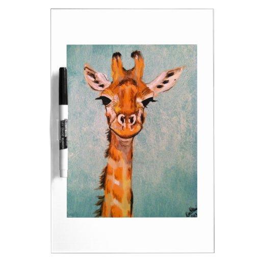 Giraffe Dry Erase Boards