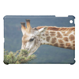 Giraffe eating some leaves iPad mini cases