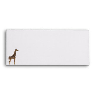 Giraffe Envelop Envelopes