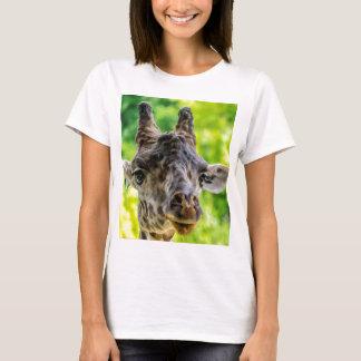 Giraffe Eyelashes T-Shirt