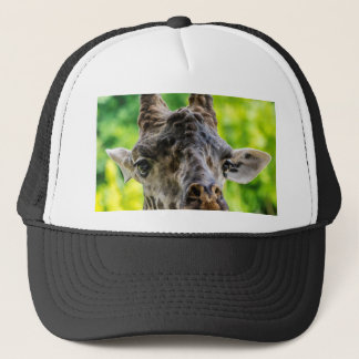 Giraffe Eyelashes Trucker Hat