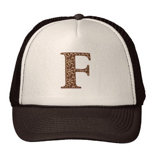 Giraffe F Hats