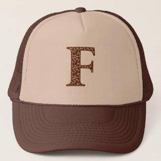 Giraffe F Trucker Hat