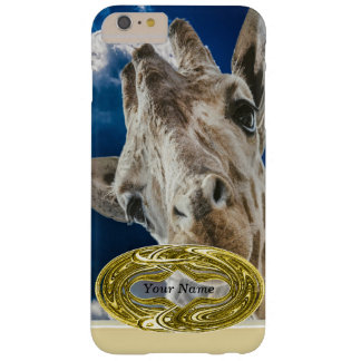 Giraffe Face Barely There iPhone 6 Plus Case