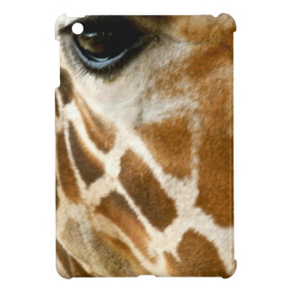 Giraffe Face Closeup | Wild Animals Nature Photo Cover For The iPad Mini