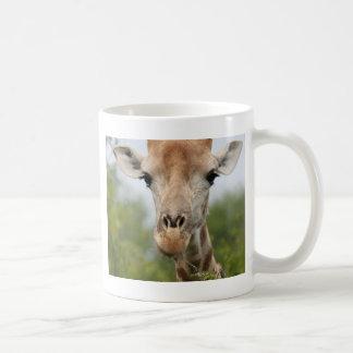 Giraffe Face Coffee Mug