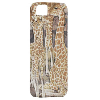 Giraffe Family iPhone 5 Case