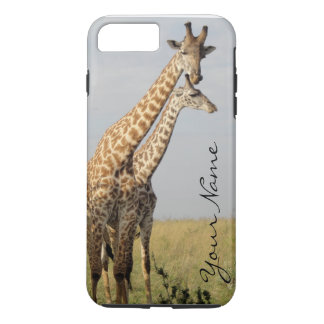 Giraffe Family iPhone 7 Plus Case Personalize!