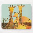 Giraffe Family mousepad
